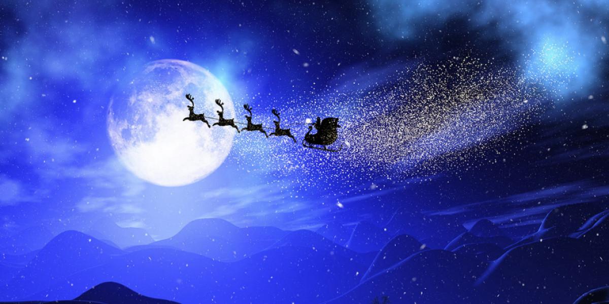 Urnik poti Dedka Mraza
