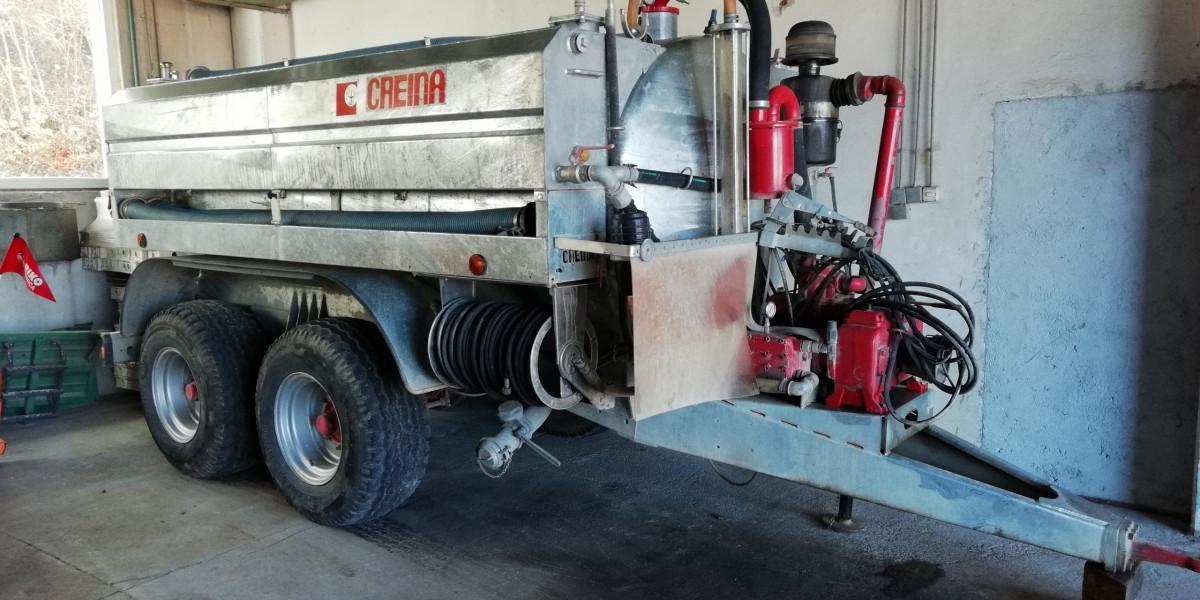Na prodaj rabljena cisterna GARDA 75 JET 132/110OMEC800
